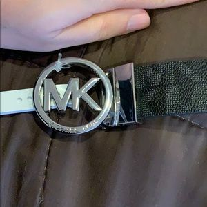 Nwt Michael kors women's logo belt small s